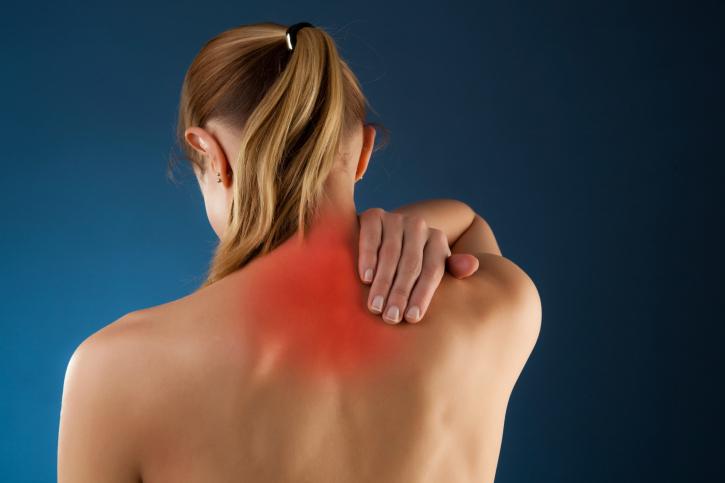 Снятие острой боли в шее, спине, суставах